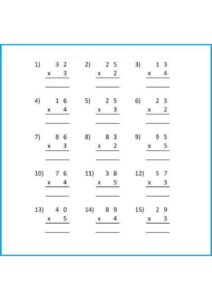 Multiplication Word Problem Worksheet For Grade 3 pdf